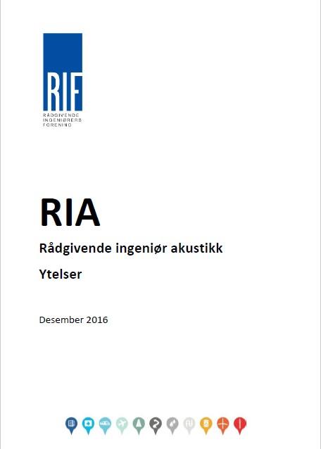 1904 - RIF ytelser akustikk (RIA) (digitalt produkt)