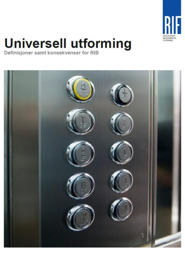 4302 - Universell utforming. Definisjoner samt konsekvenser for RIB (digitalt produkt)