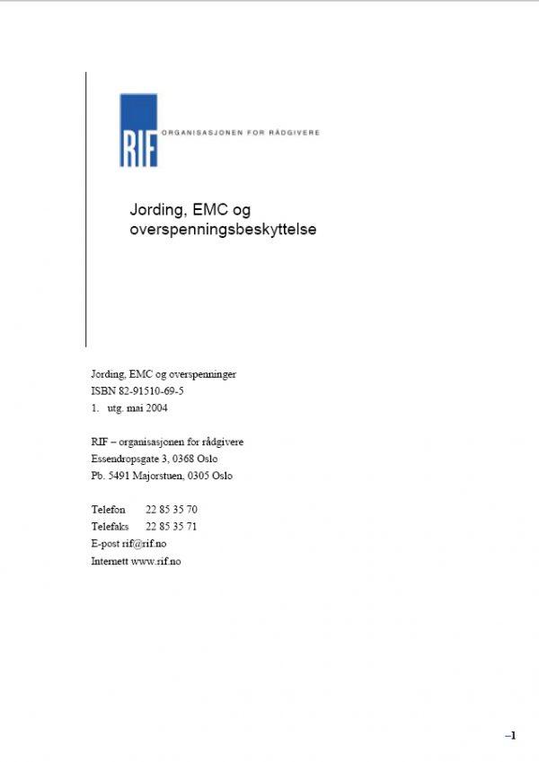 4420-S - Jording, EMC og overspenningsbeskyttelse (digitalt produkt)
