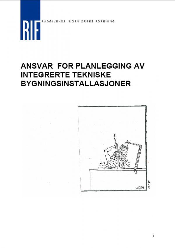 4422-S - Ansvar for planlegging av integrerte tekniske bygningsinstallasjoner (digitalt produkt)