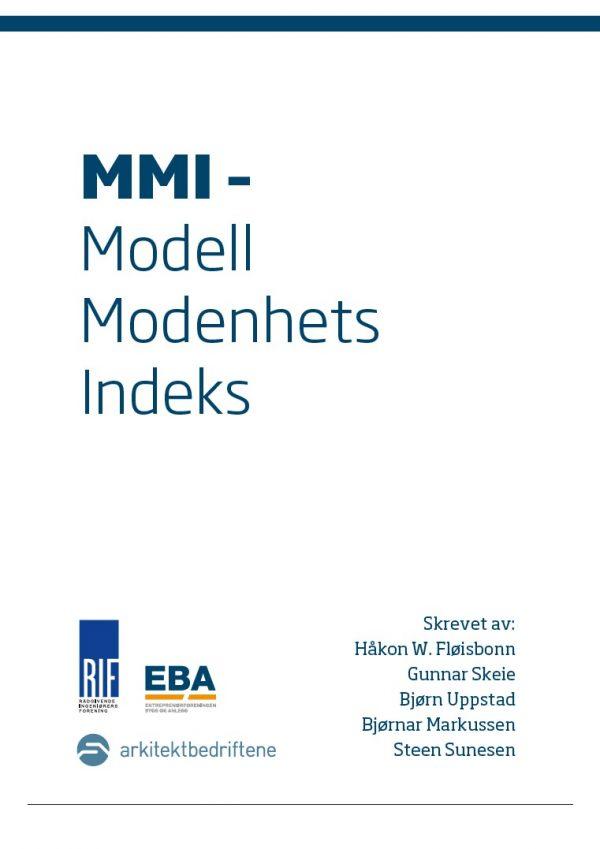 9805 MMI - Modell Modenhets Indeks (digitalt produkt)